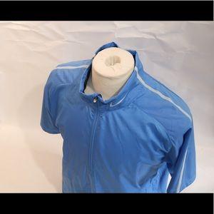 Nike Golf Short Sleeve Windshirt Size L